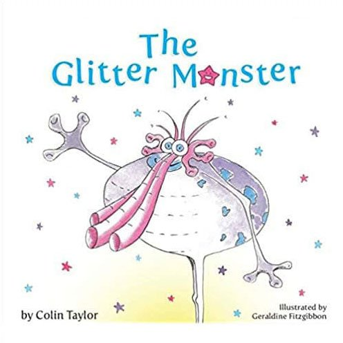 The Glitter Monster children's book